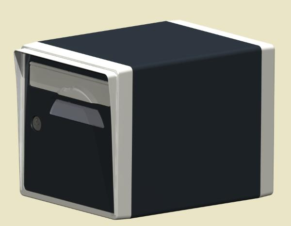 boite a lettre individuelle ext rieure normalis e prix. Black Bedroom Furniture Sets. Home Design Ideas