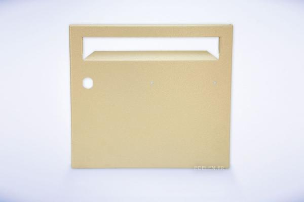 Porte boites aux lettres collectives edelen acier normes - Porte etiquette pour boite aux lettres ...