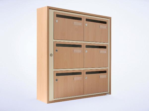boites aux lettres bois collectif r novation boites aux lettres copropri t normes la poste. Black Bedroom Furniture Sets. Home Design Ideas